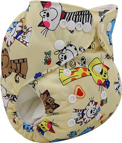 Mummamia Cloth Diaper Cover + 2 Microfibre Inserts-K81