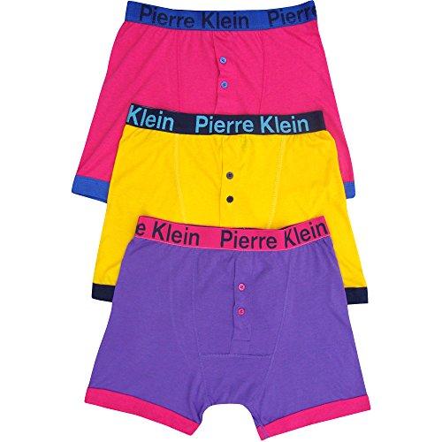 TeddyT's Herren Boxershort Mehrfarbig Mehrfarbig Gr. Small, Mehrfarbig - Mehrfarbig (Pack Herren-boxer Bulk)