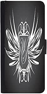 Snoogg Abstract Wings Designer Protective Phone Flip Case Cover For Redmi 2 Prime