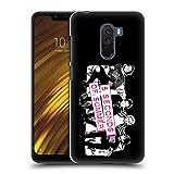 Head Case Designs Offizielle 5 Seconds of Summer Sofa Rosa Gruppenbild Derp Ruckseite Hülle für Xiaomi Pocophone F1 / Poco F1