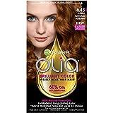 Garnier Olia Oil Powered Permanent Haircolor, 6.43 Light Natural Auburn