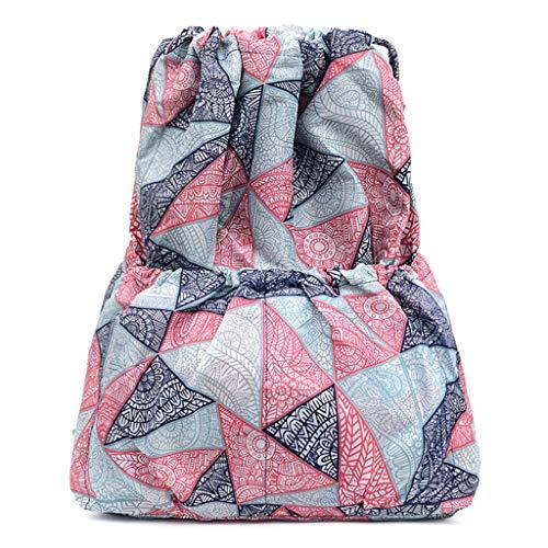 VECOLE Rucksäcke Damen Mädchen 2019 Neuer Campus Studententasche Hochleistungsdruck Wasserdichter Nylonrucksack im Ethno-Stil Outdoor Wanderrucksacke(H)