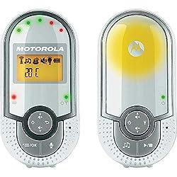 Motorola Baby MBP 16, Digital DECT Baby Monitor, Audio Monitoring, Night Light and 2 Way Communication