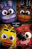 GB Eye LTD, Five Nights at Freddys, Quad, Maxi Poster, 61 x 91,5 cm