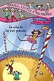 Menta tiene ocho años y los pies largos, larguísimos. Sus pies son como patines o pequeños esquís. Poco aptos para la danza, por ejemplo, pero útiles para muchas otras cosas, como descubrirá en esta divertida y emocionante aventura.
