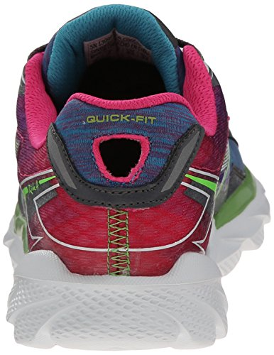 Skechers Go Run Ride 4 Excess, Running Entrainement femme Charcoal Multi