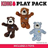 Kong Wild Knots Oso de Juguete para Perro, tamaño Mediano/Grande, Paquete...