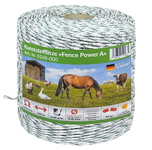 Eider 0168-000 Kunststofflitze Fence Power A - Zaun Elektrischer Pferd