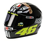Minichamps 1 : 2 Casque AGV Valentino Rossi Jerez Test Version 2007