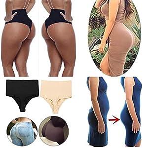 Marico Nahum Damen-elastische dünne hohe Taillen-T-Schnur Schlüpfer-Wäsche-Schriftsätze reizvolle Unterwäsche