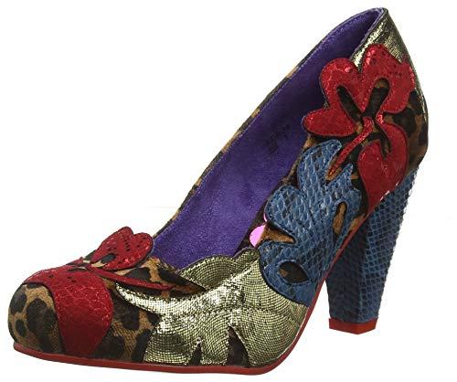 POEAB|#Poetic Licence by Irregular Choice In The Tropics, Zapatos de tacón con Punta Cerrada para Mujer...