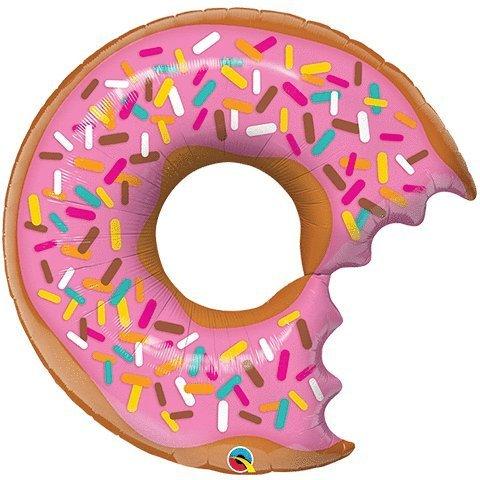 Unbekannt Qualatex 57357Supershape Bit Donut und Sprinkles Folienballon, 91,4cm