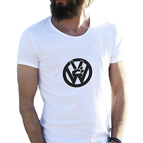 vw-volkswagen-peace-fingers-cool-sketch-friendly-bees-blanca-camiseta-para-hombre-medium