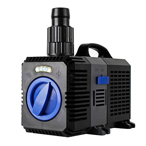 EverBest4U ECO Teichpumpe Pumpe Filterpumpe Bachlaufpumpe Wasserpumpe 10W 3000L/H …