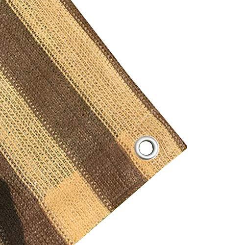 Zeltplanen CJC Markisen Sichtschutzgitter Zaun Atmungsaktives Windschutzgitter Mit Ösen for Den Gartenpoolbalkon (Color : Stripe, Size : 3x4m) - Wachsen Zelt 3x4