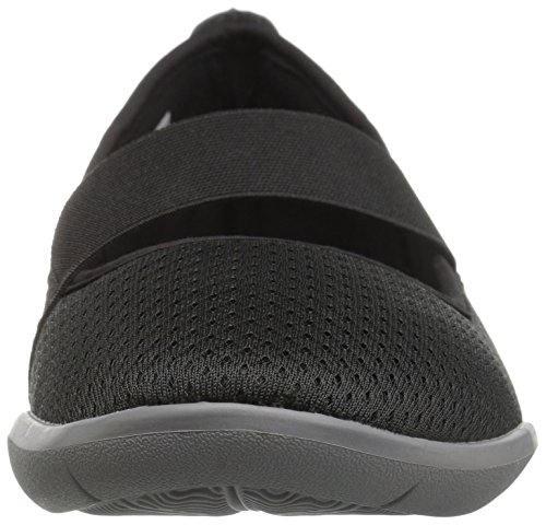Crocs Swiftwater Flat W Blk/Smo, Ballerine Donna Nero (Black/Smoke)