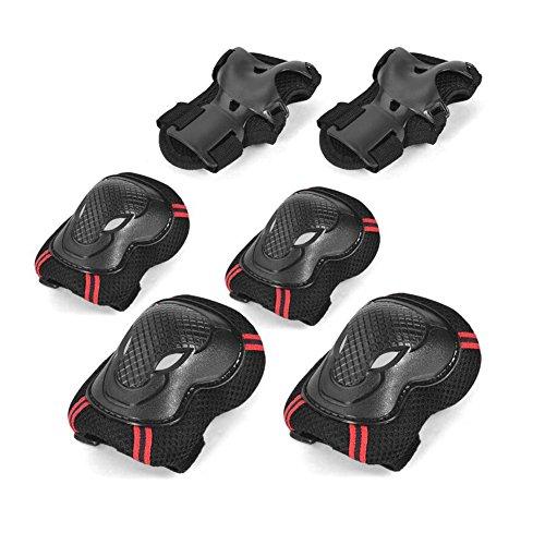 HONEY Schutzausrüstung Sportschutzausrüstung Für Kinder Helm SKateboard Eislaufen Balance Car Roller Skating (Farbe : 7)