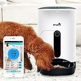 Distribuidor automático de comida Smart PET feeder WiFi para perros y gatos. Puoi hermético il Tuo pequeño amigo doméstico a distancia, Vederlo comer y Parlare con él con il Tuo Smartphone. Disponibles App Android y iOS