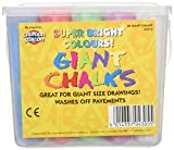 Купить Coloured Chalk For Children Tub Of 20 Giant  Assorted Colours