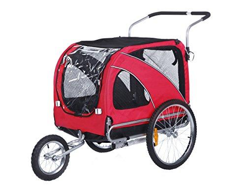 leonpets 2en 1mascotas transportswagen para Jogger/remolque de...