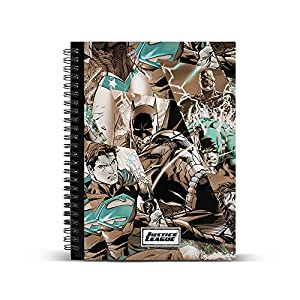 Liga de la Justicia- Libretas Y Cuadernos, (Karactermania KM-37629)