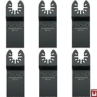 Hobbypower24© Tauchsägeblatt / Sägeblatt Bi-Metall BIM für Holz & Metall 35mm für Bosch Multifunktionswerkzeug PMF 180 E / PMF 190 E / PMF 10,8 LI (6er-Set)