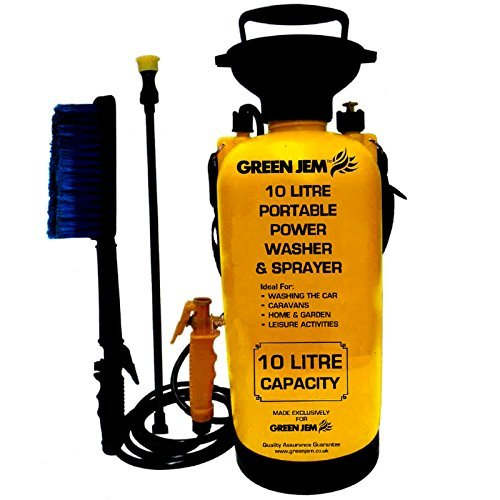new-10-litre-portable-pressure-washer-power-pump-car-jet-wash-brush-water-hose-lance-cleaner-br1000