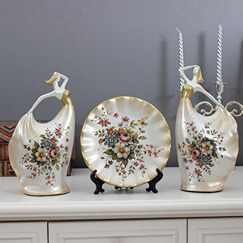 Ornamente kreativ Nordic Home Decor Wohnzimmer TV-schrank Handwerker Charakter drei Stück, F, 1. (Handwerker Wohnzimmer Schrank)