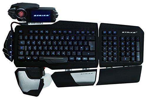 PC: S.T.R.I.K.E. 7 Tastiera da Gioco, Layout UK, Nero