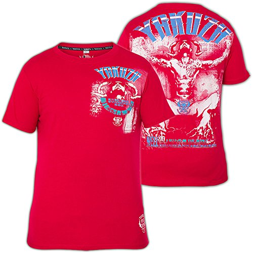 Yakuza T-Shirt TSB-303 Rot Rot