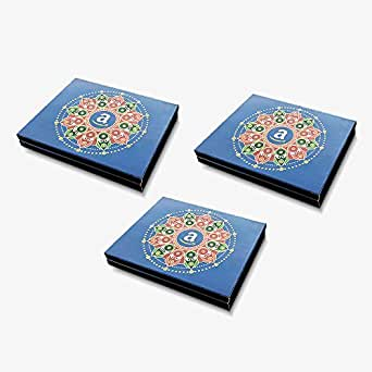 Amazon Pay Gift card - in a Blue Gift Box (Pack of 3) - Rs.3000