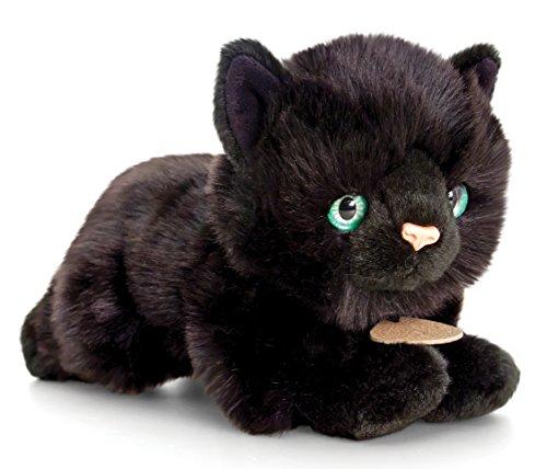 Plüsch Katze schwarz, Signature Kittens Kuscheltier ca. 30 cm Wie Sie Ihre Katze Massage
