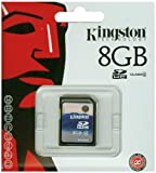 Kingston 8 GB SDHC Memory Card