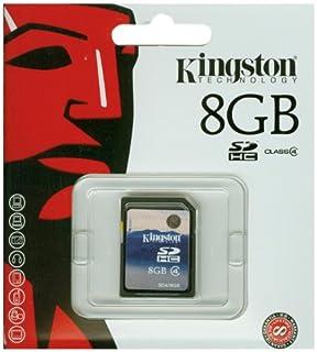 Kingston SDHC - Tarjeta de Memoria de 8 GB (Clase 4) (B000OF2F36) | Amazon price tracker / tracking, Amazon price history charts, Amazon price watches, Amazon price drop alerts