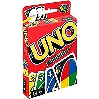 Mattel-W2087-Uno-Kartenspiel Mattel Games W2087 – UNO Kartenspiel und Gesellschaftspiel, geeignet für 2 – 10 Spieler, Kartenspiele und Gesellschaftsspiele ab 7 Jahren -