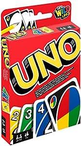 Mattel W2087 – Uno, Kartenspiel