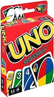Mattel Games W2087 - UNO Kartenspiel, geeignet für 2 - 10 Spieler, Spieldauer ca. 15 Minuten, Gesellschaftsspiele und Kartenspiele ab 7 Jahren (B005I5M2F8) | Amazon Products