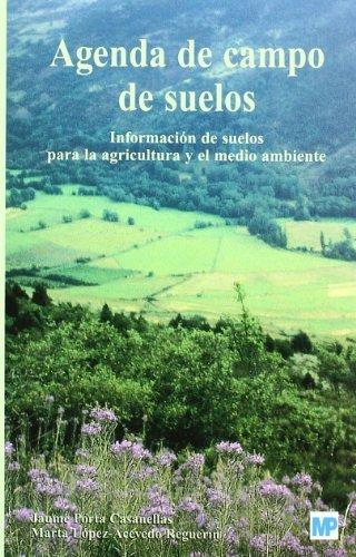 Agenda de campo de suelos por Jaime Porta Casanellas