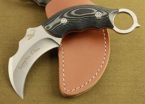 FARDEER KNIFE Couteau de survie Scorpions Couteau De Poche Chasse Pêche Randonnée