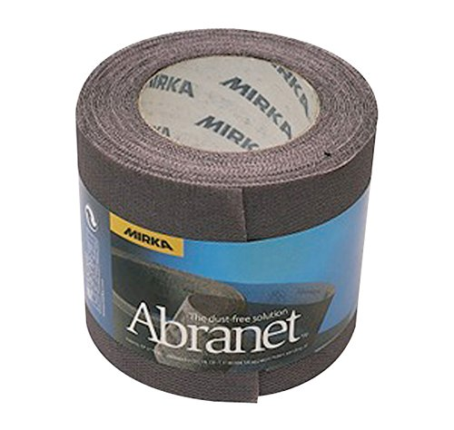 Mirka 545BY001123R Abranet Grip Rolle P120, 115 mm x 10 m