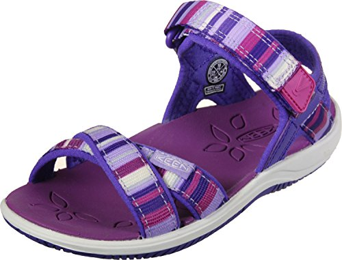 KEEN , Sandales pour Fille Multicolore Mehrfarbig (Bright Rose Raya)