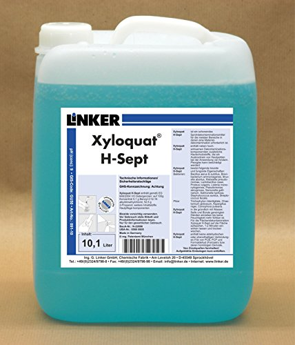 Linker Chemie Xyloquat H-Sept Kombikanister VE 6 Liter | Reiniger | Hygiene | Reinigungsmittel | Pflegemittel | Pflege | Reinigungschemie |