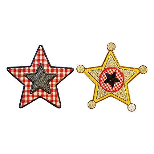 la-estrella-del-sheriff-9x10cm-rojo-9x9cm-estrella-visitada-brillante-placa-de-comisario-sheriff-ste