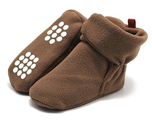 Y-BOA Chaussure Toddler Antidérapant Slippers Naissance Scratch Infantile Bébé Souple Premiers Pas Chausson