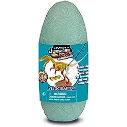 Geoworld Modelo Velociraptor - Código CL578K -Jurassic Eggs con kit de pintura