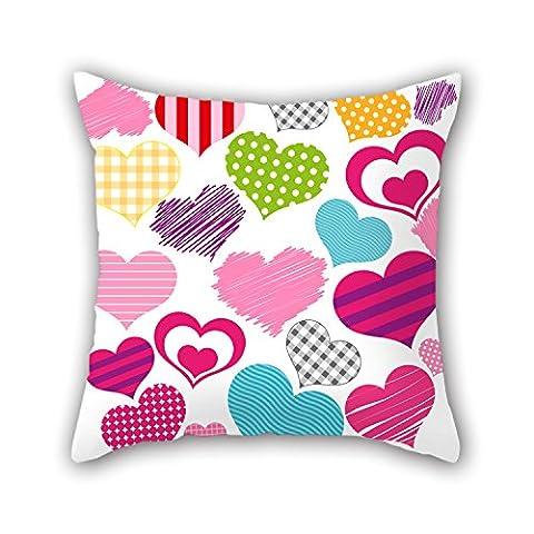 beautifulseason 50,8x 50,8cm/50von 50cm LOVE Weihnachten kissenrollen jeder Seite Ornament und Geschenk auf Stuhl Sofa Teens Mädchen Home Vater Liegestuhl