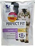 Perfect Fit Junior <1 Cat Dry Food Rich in Chicken, 750 g