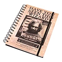 A5 Sirius Black Poster Notebook