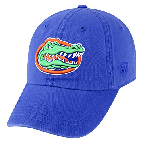 Top of the World ncaa-cotton crew-city-adjustable strapback-hat Gap, Herren, Florida Gators-Royal Blue - Royal Blue Gator