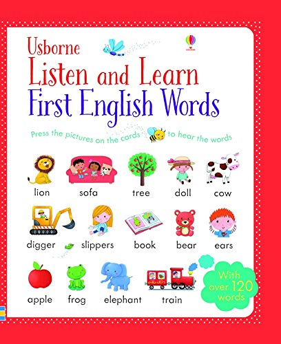 Listen and Learn First English Words par Sam Taplin